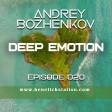 Dj Andrey Bozhenkov - BenefickStation. Deep Emotion (Episode 020) (13.09.2020)