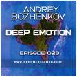 Dj Andrey Bozhenkov - BenefickStation. Deep Emotion (Episode 028) (05.11.2020)