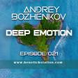 Dj Andrey Bozhenkov - BenefickStation. Deep Emotion (Episode 021) (17.09.2020)